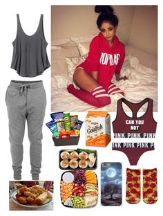 """OOTN ~Kayla"" by mindlesschica62 ❤ liked on Polyvore featuring RVCA, Diesel and Junk Food Clothing"