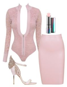 Untitled #5490 by stylistbyair on Polyvore featuring polyvore fashion style Sophia Webster MAC Cosmetics clothing