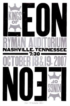 Band Poster - Kings of Leon