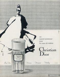 Christian Dior (Perfumes) 1966 Diorama, René Gruau