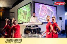 Italian Entertainment And More: Funky Fiat 500 tijdens het succesvolle Grand´Amici Diner van Grand´Italia