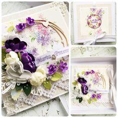 Kartka ślubna/ wedding card / slub / handmade card/ młodej parze  KastelOfArt