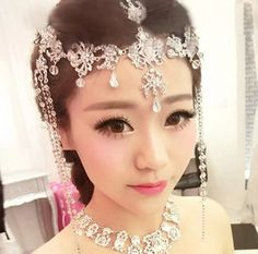 Romantic Bridal Hair Accessories Sexy Rhinestones And Crystals Headpieces 2015 Top Quality Bridal Headband Wedding Tiaras Hair Accessories For Brides Online Hair Accessories For The Bride From Yoursexy_cute, $12.74| Dhgate.Com