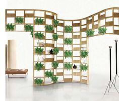 Wooden Outdoor Furniture Designs by Deesawat - Green Wall, Stick Up, Summer Cabana