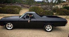 Lady Gaga's Chevy El Camino!
