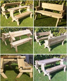 Home made Bench/picnic table