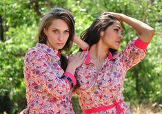shirt & shirtdress in liberty print - kaj.ani 'transition-resort'   @TheSpeakEasy @kajanistudio