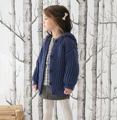 Modèle gilet bleu enfant Partner 6 - Modèles Gratuits Enfant - Phildar