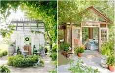 She-sheds, de vrouwelijke versie van man-caves. Oftewel: een klein (tuin)huisje die vrouwen gebruiken om tot rust te komen of creatief te zijn.