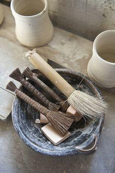 Bernard Leach Pottery Studio St.Ives Tools