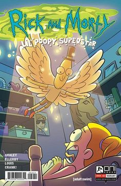 Rick & Morty Lil Poopy Superstar #2 (Of 5) Farina Variant