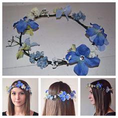 Bass bunny designs flower crown #flowercrown #rave #crown #cute