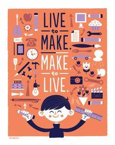 Quotes & Design. Vivere per creare