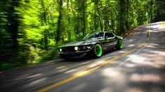 "Vaughn Gittin Jr.'s '69 Ford Mustang dubbed ""RTR-X"""