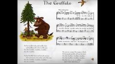 """[EN] """"The Gruffalo Song"""" Julia Donaldson The Gruffalo Song, Songs, Youtube, Monsters, Crafts, School, Languages, Manualidades, Song Books"""