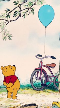 Winnie The Pooh Wallpaper Hd For Mobile Disney Pixar, Disney Animation, Disney Cartoons, Disney Art, Disney Movies, Cute Winnie The Pooh, Winne The Pooh, Winnie The Pooh Quotes, Winnie The Pooh Drawing
