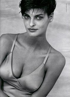 Linda Evangelista, January 1991.