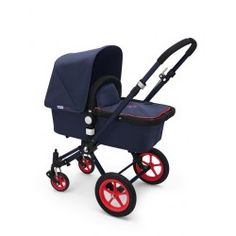 Bugaboo Cameleon C3 Neon Blue/Red - would be so cute for a baby boy!