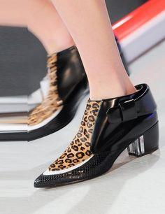 Mejores New 56 imágenes de Zapatos New Mejores york fashion week SS2018 en 647164