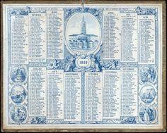 Almanach des Postes 1859