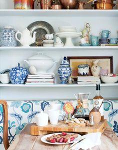 #gingerjars and kitchen nook