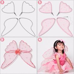 Fairy Wings, 21 things to do with Tulle besides tutus