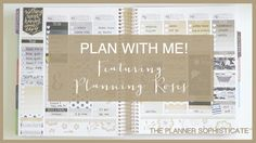 Mock Plan with Me! \\ Vertical \\ Ft Planning Roses