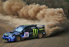Subaru WRX Rally Car - slideways   him <3