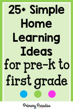 Keeping kids busy at home can be challenging, especially if you want to ensure that they're continuing to learn as well. Here are some simple activities that you can do at home with your little ones. Back To School Activities, Classroom Activities, Learning Activities, Teaching Ideas, School Ideas, Addition Activities, Subtraction Activities, Measurement Activities, Teacher Organization