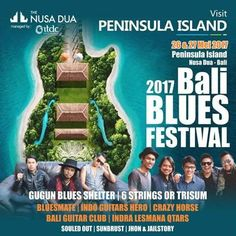 Save your date with Blues marker on May 26th & 27th 2017, only at Peninsula Island,  Nusa Dua – Bali. Guest stars : Gugun Blues Shelter, Sixstrings, BluesMates, Indo Guitars Hero, CrazyHorse, Sekertariat Bali Guitar Club, Indra Lesmana, SOULed OUT, SUNBURST, Jhon & Jail Story. More info visit our site : https://www.maharanibeachhotel.com/blog/bali-blues-festival-is-back-in-2017/