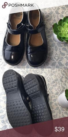 Doc martens black patent leather Mary Janes size 3 Nice pair of youth doc martens black patent leather Mary Janes size 3w or euro size 35 doc martens Shoes Dress Shoes