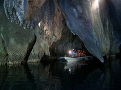 Puerto Princesa Subterranean River National Park. One of the boats in the caves. #AsiaPacific #GrandWorldVoyage