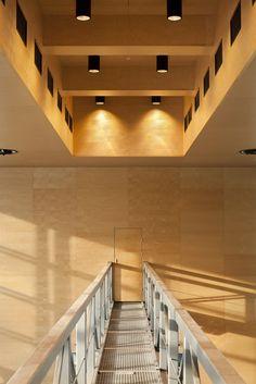 Birch interior walls and ceiling Gustafs.com The City Stadium in Krakow - Gustafs.com