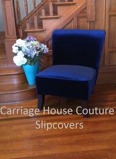 Sewing slipcovers for Target armless chairs Sew Be It