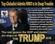 "NWO Warns Of 'Terrible News' For America And The World - Donald Trump NWO 'Enemy Number 1' - False Flag Warning Into 2017 As NWO Panics | 5.6.16 |""With only a general election now standing in between Trump & the W.H., what else does the 'new world order' have planned for America? What the globalists call 'terrible news' is great news to most 'awake' Americans! Why the disconnect? It's now quite clear, only Donald Trump can stop their plans for a 'new world order'. What will they do to stop…"