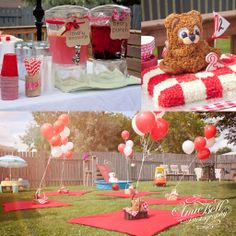 2nd Birthday Teddy Bear Picnic by Amie Bell.  This is amazing!!!