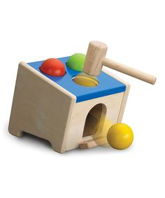 Take a look at this Pounding Ball Set by Wonderworld on #zulily today!