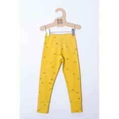 Yellow tent leggings.