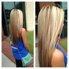 If I ever decide to dye my hair, this is what it will look like.