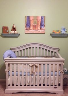 Western themed nursery for our sweet boy! #drakeedward #baby