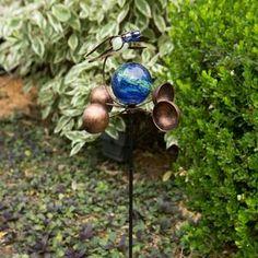 Vintage Edi-Sol Solar Light Bulb (Set of 2) - EchoValley.com Solar Light Bulb, Sun Solar, Solar Lights, Garden Poles, Patio Umbrellas, Outdoor Settings, Colorful Drawings, Hand Blown Glass, Bird Feeders