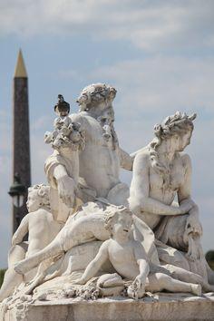 Tuileries gardens, Paris