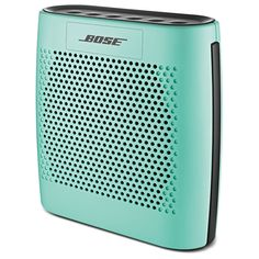 The Bose SoundLink Color Bluetooth® speaker connects wirelessly to your smartphone, tablet or other Bluetooth®-enabled devices - up to 2 devices at a time! Smartphone, Bluetooth Speakers, Portable Speakers, Cool Gadgets, Bose, Cool Stuff, Theater, Amazon, Electronics