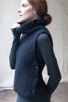 vest with cowl
