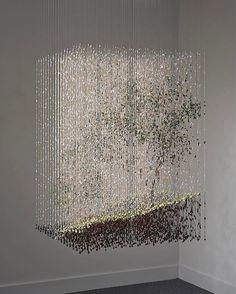 The Intimate Paint-Drop Sculptures of Chris Dorosz Acrylic Rod, Instalation Art, Creation Art, Paint Drop, Wow Art, Art Plastique, Oeuvre D'art, Sculpture Art, Amazing Art