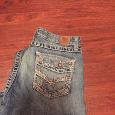 BKE jeans, size 27 x 31 1/2. Very cute pair of BKE jeans, worn twice, just too short for me. BKE Jeans Boot Cut