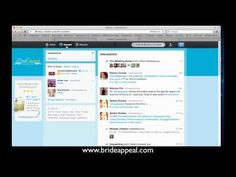 A couple of my Twitter Tips...    http://brideappeal.com/_blog/blog/tag/twitter/