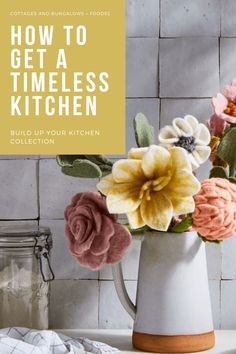 Did you know that your small kitchen items like bakeware and utensils can give your home better style? Find out how at CottagesandBunalowsMag.com! #kitchen #cottagekitchen #kitchencollection #kitchenware #kitchenideas