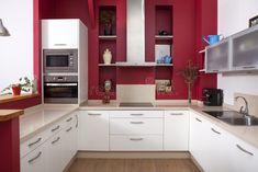 Fantastiche immagini in pareti della cucina su idee