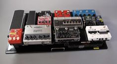Vertex Effects Pedal Board featured in April 2013 Blog with Neunaber Technology Chroma Chorus Reverb & Neunaber Technology Stereo Wet Reverb #neunabertechnology